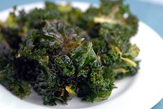 Healthy Lemon Kale Chips Recipe