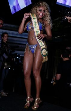 Miss Bum Bum Brazil 2016 Crowns First Black Winner