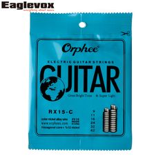 Colorful Electric Guitar String Color Nickel Alloy 009-042 inch Orphee RX15 - C #Affiliate