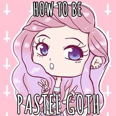 Have you ever wanted to be pastel goth? We'll show you all the steps needed to be one! Pastel goth leggings, t-shirts, kawaii accessories, pastel makeup and much more!