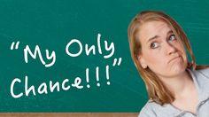 German Lesson (124) - My Only Chance!!! - nur ∙ bloß ∙ lediglich ∙ erst ...