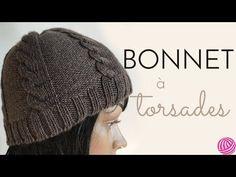 [ DIY ] Bonnet à torsades au tricotin circulaire - YouTube