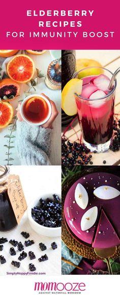 Immunity Boosting Elderberry Recipes for Winter Cake Roll Recipes, Jelly Recipes, Honey Recipes, Popsicle Recipes, Jam Recipes, Apple Recipes, Elderberry Honey, Chia Jam Recipe, Kuchen