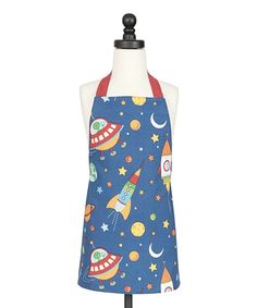 Loving this Handstand Kids Out of This World Apron - Kids on #zulily! #zulilyfinds