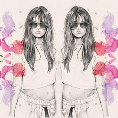 fashion illustration love x