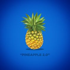 Felt like I cut too many corners in that first iteration of the pineapple #illustration, so I took another crack at it. Much better.  #vector #vectorart #graphic #design #graphicdesign #packaging #illustrator #adobe #fruit #pineapple