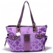 Coach Audrey Sateen Op Art Diaper Bag Purple  $76.00 http://www.coachstyles.com