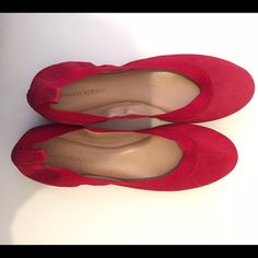"""Banana Republic Red Abby Ballet Flats Brand new. """"Lipstick"""" red. Comfortable elastic trim. Banana Republic Shoes Flats & Loafers"""