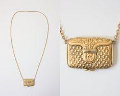 Vintage Locket Necklace.
