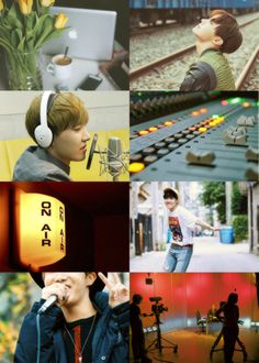 bts college au || aesthetics - broadcasting major jung hoseok