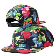 Basic Selection - The Floral Cap Black http://www.urbanlocker.com/produits/22238-the-floral-cap-black/