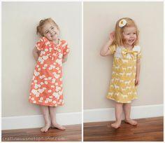 Easy A Line Knit Dress Tutorial