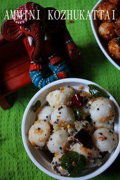 Ammini Kozhukattai Recipe / Mini Kozhukattai Recipe - Ganesh Chaturthi Recipes