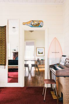Love this Valla surfboard by Sage Joske as featured on The Design Files. Beautiful form & function