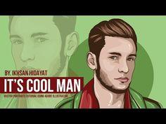 Tutorial Vector Portraits - it's cool man (Using Adobe Illustrator cc.2015) - YouTube