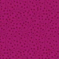 Patchworkstoff-What hoo? pink-Basic pink von Der Stoffstand   auf DaWanda.com
