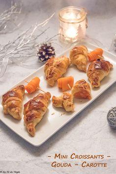 Mini croissants gouda – carotte Gouda, Croissants, Mini Croissant, Buffet, French Toast, Breakfast, Desserts, Home Made, Greedy People