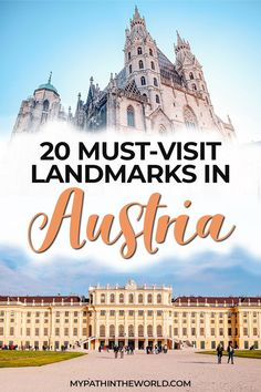 Looking for the best places to visit and most beautiful landmarks in Austria? Here are 20 must-visit famous Austrian landmarks European Travel Tips, Europe Travel Guide, Italy Travel, Travel Destinations, Travel Around Europe, Austria Travel, Worldwide Travel, Portugal Travel, Travel Inspiration
