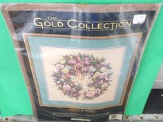 Dimensions Counted Cross Stitch Kit -Wreath of Roses The Gold Collection New  #Dimensions