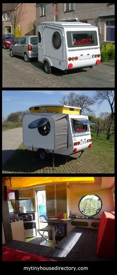 Jurgen Jas builds a micro camper by hand!   Jurgen was not happing camping in a tent and so he   decided to build his own micro camper.   ...