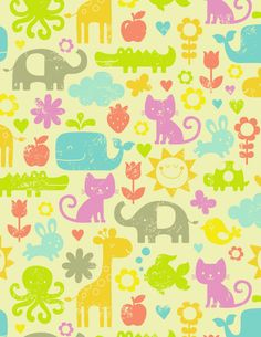 Cute animal print patterns - photo#19