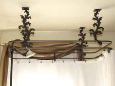 install the finest custom shower curtain rod available anywhere for your clawfoot, pedestal, corner or conventional tub