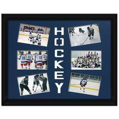 Ice Hockey Photo Mat. Hockey photo mats are the perfect way to transform any space while showcasing your athletes' photographs.