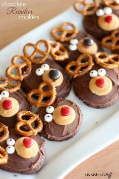 Chocolate Reindeer C