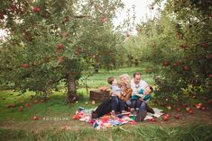 This whole session is amazing. Would love to do a family shoot in an apple orchard!