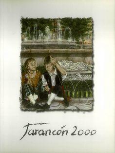 Feria y fiestas en Tarancón (Cuenca), en honor de la Virgen de Riánsares. Del 7 al 13 de septiembre del 2000. Competición nacional de tiro con arco. #Fiestaspopulares #Tarancón #Cuenca