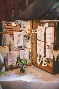 Table plan for a Vintage Inspired East London Wedding | Photography by http://www.mikiphotography.info/