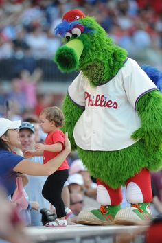 You mean, not everyone loves the Phanatic???