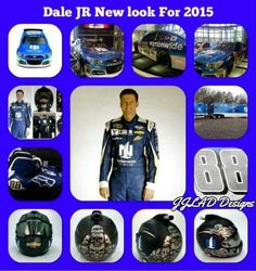 Dale Jr's new look for 2015 it