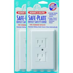 Mommy's Helper White Safe Plate Standard Outlet Covers (Pack of 25) - Overstock™ Shopping - Big Discounts on Mommy's Helper Other Home Safety