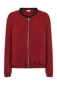 Gigi Zip Thru' Bomber Jacket Bomber Jacket, Zip, Sweatshirts, Sweaters, Jackets, Collection, Fashion, Down Jackets, Moda
