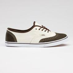 canvas van's oxford saddle shoes. I die.
