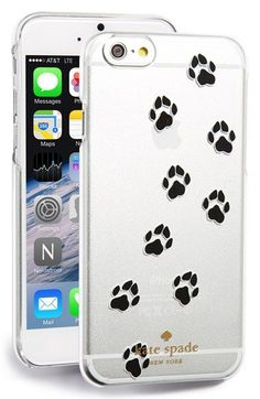 kate spade new york paw print iPhone 6 case available at #Nordstrom