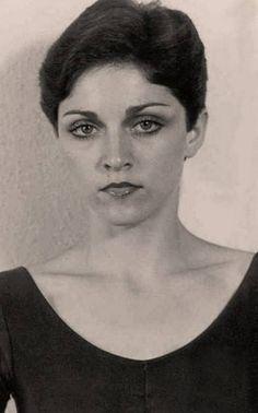 Madonna, 1978/79 short brown hair