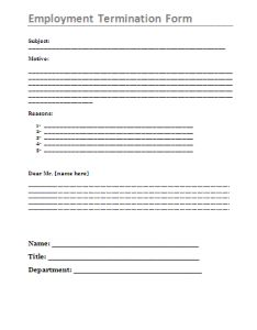 Sample Employee Appraisal Form  My Board