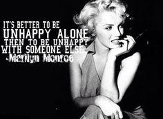 I love Marilyn Monroe …