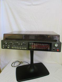 150euros Rarität - ITT Schaub-Lorenz Stereo 7200 HIFI Compact auf Tulpenfuß | Belt Drive | eBay