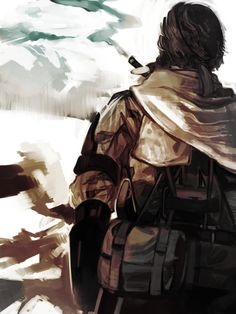 Metal Gear Solid: Phantom Pain Big Boss Fan Art