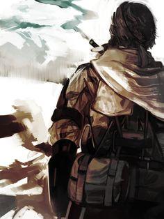 Metal Gear Solid: Phantom Pain Big Boss Fan Art