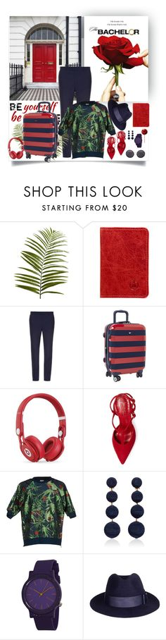 """""""Red-Blue 1-1 ^ (7.1)"""" by red-fashion ❤ liked on Polyvore featuring Pier 1 Imports, Made In Mayhem, Mathieu Jerome, Beats by Dr. Dre, Jean-Michel Cazabat, Paul Smith, Rebecca de Ravenel, Komono, Linda Farrow and crazyforfashion"""
