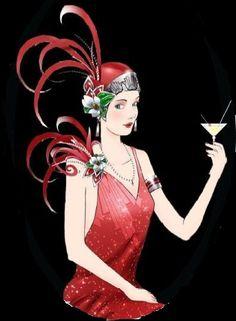 Art Deco Ladies | ART DECO LADY (44)