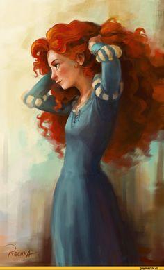 art,красивые картинки,арт,Храбрая сердцем