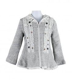 NEW vintage lace french terry hoodie #mynaartjiekid