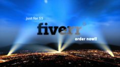In just1day make text and logo reveal video in Fox Searchlight style over city for $5, on fiverr.com