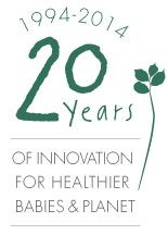 #LuQiViBeSEarThWorThOrGhanIZeNsaTioN  www.naty.com   20 years of innovation for healthier babies  planet