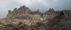 #crimea Доллина привидений, гора Демерджи, Крым